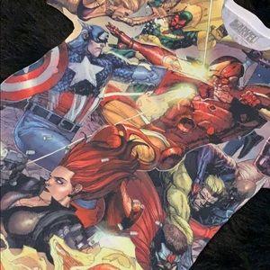 Marvel Graphic T-Shirt Sz S